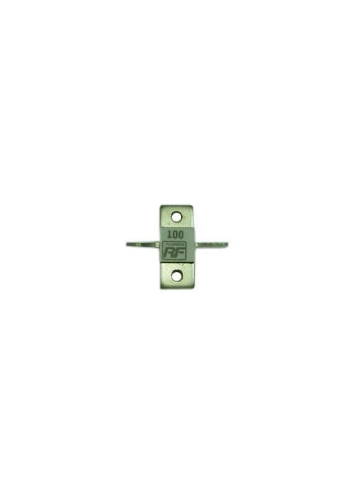 500 Watts 100 Ohm Flanged Microwave Resistor