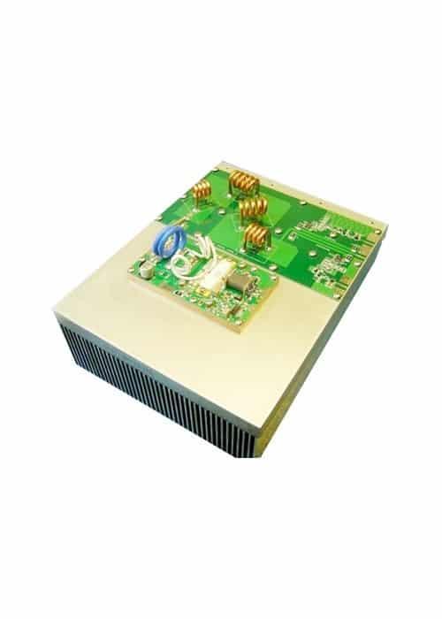 600W FM Modulo Amplificador Dissipador de Calor e Filtro Passa Baixa