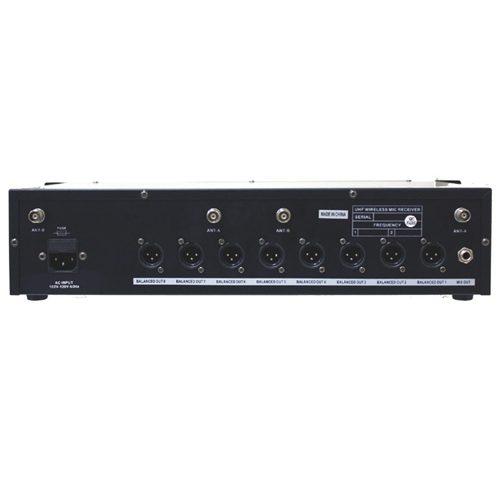 Hisonic HSU9800C - 1 Receptor e 8 Microfones