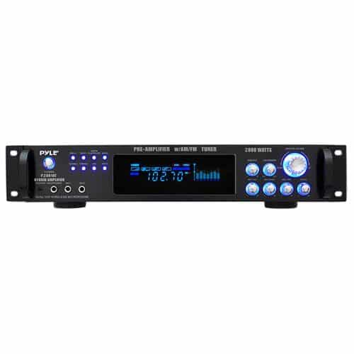 Pyle P-2001AT Tuner AM/FM com Amplificador de 2000 watts