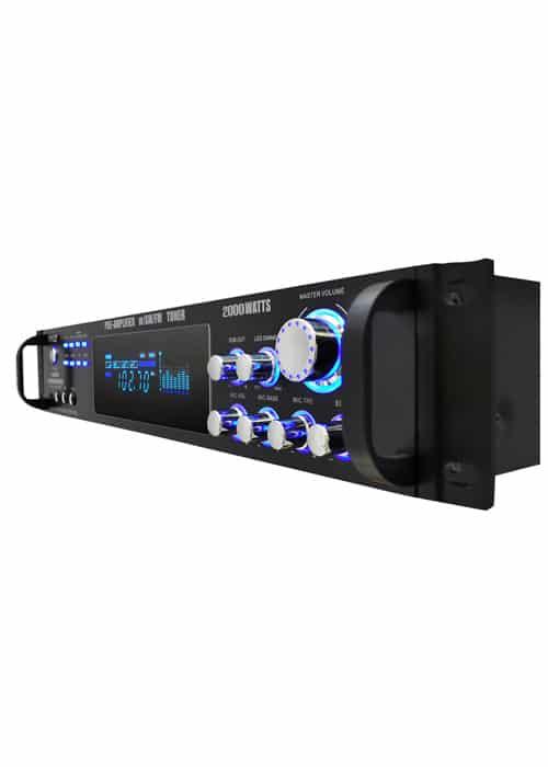 Pyle P-2001AT Tuner AM/FM com Amplificador de 2000 watts