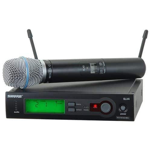 Shure SLX24/BETA87A - (J3 - 572-596 MHz)