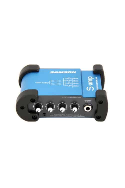 Samson S Amp Distribuidor Amplificador de Fone 4 Canais