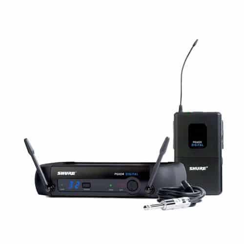Shure PGXD14 PG30 Sistema Digital Sem Fio Com Headset Mic