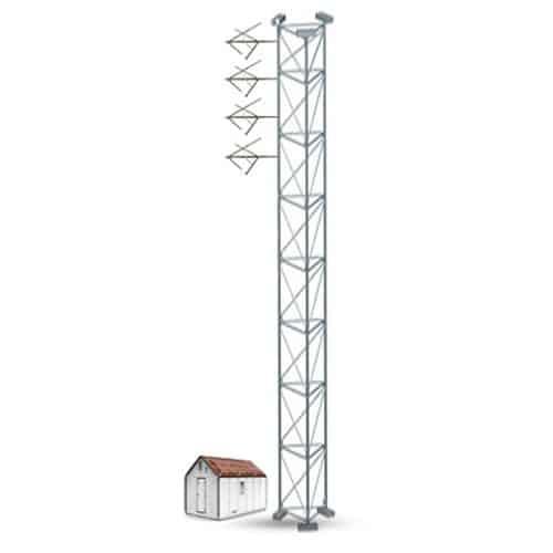 EB Gap Killer GK-4 Sistema Com Quatro Antenas FM para Potência Máxima de 7.600W