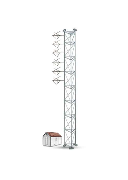 EB Gap Killer GK-6 Sistema Com Seis Antenas FM para Potência Máxima de 14.400W