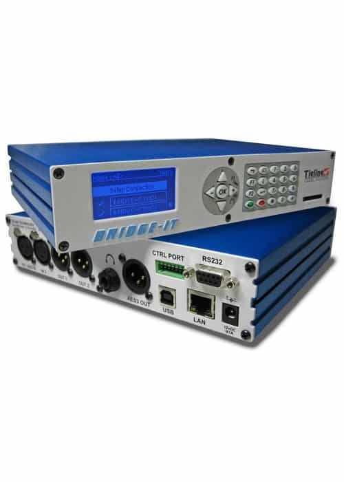 Tieline Bridge It PRO Estereo IP Codec Link