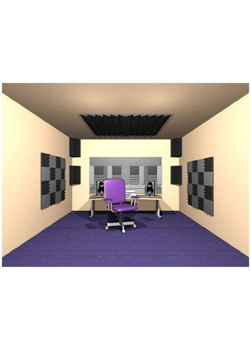 Auralex D36 Roominator Kit Charcoal - Burgandy