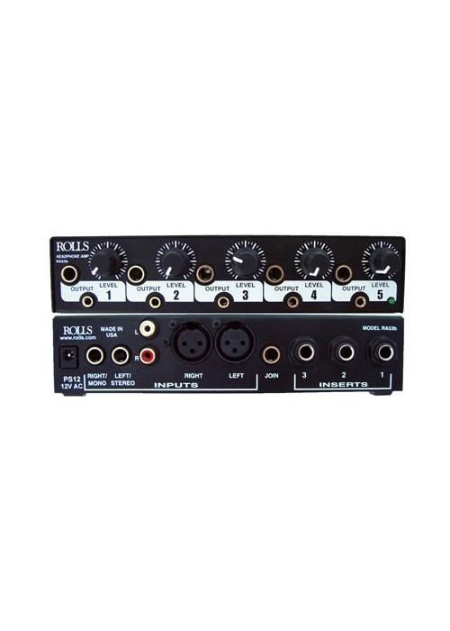 Rolls RA53B Distribuidor Amplificador De Fone 5 Canais