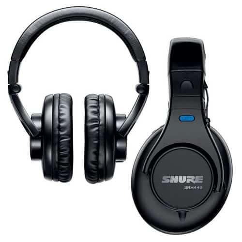 Shure SRH440S Fone de Ouvido
