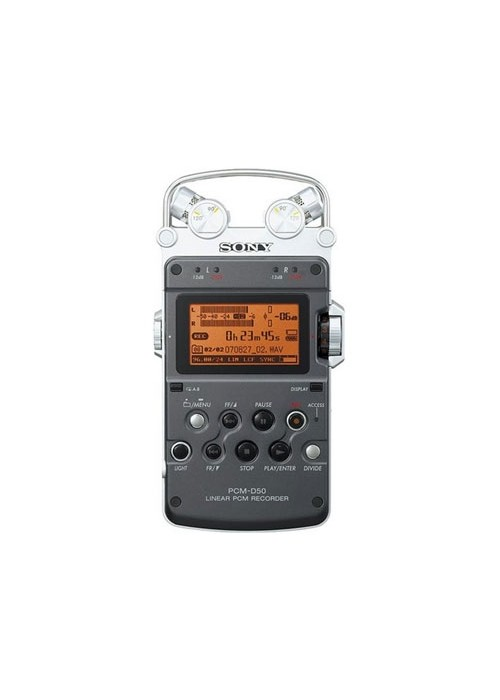 Sony PCM-D50 Gravador Digital
