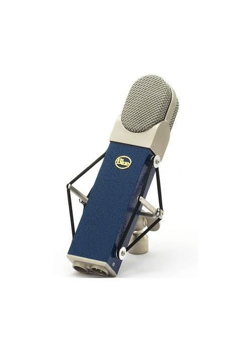 Blue Blueberry Microfone Condensador