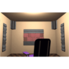 Auralex Alpha DST Roominator Kit Charcoal - Burgandy