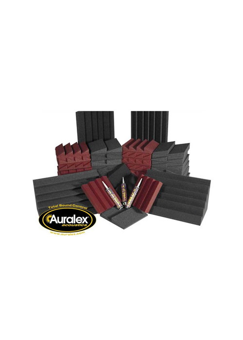 Auralex Alpha DST Roominator Kit Charcoal - Burgandy