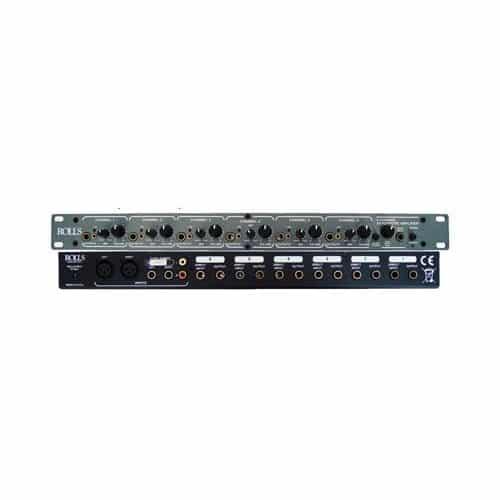 Rolls RA62C Distribuidor Amplificador De Fone 6 Canais