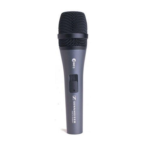 Sennheiser E845S Microfone Supercardioide Dinamico Com Botao Liga-Desliga