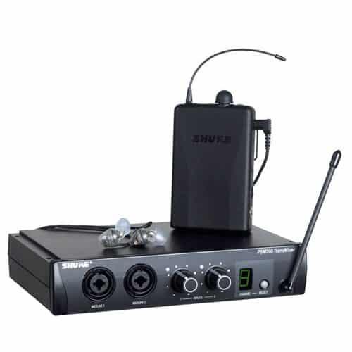 Shure Psm200 Sistema De Monitor Sem Fio In Ear