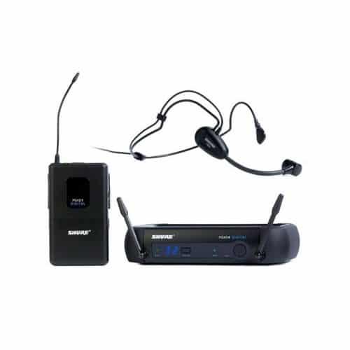Shure PGXD14/PG30 Sistema Digital Sem Fio Com Headset Mic
