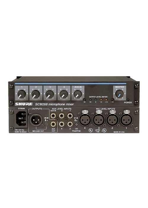 Shure SCM268 Mixer de Microfone