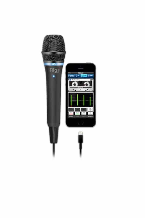 iRig Mic HD- Mic para iPhone, iPad, iPod touch ou Mac - Android ou PC