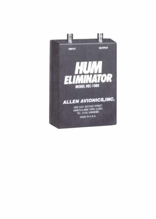 """ALLEN AVIONICS HEC1000 - """"HUM KILLER"""" - ELIMINADOR DE HUM DE SINAL COMPOSTO MPX"""