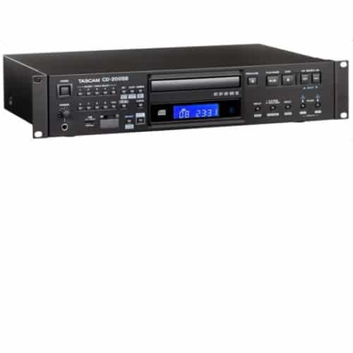 TASCAM MODELO CD-200SB - CD PLAYER MULTIMIDIA PROFISSIONAL