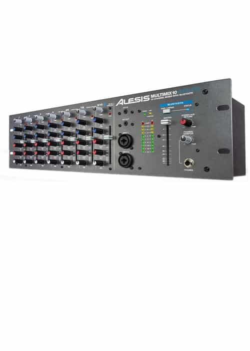 ALESIS MULTIMIX 10 WIRELESS - MIXER DE RACK COM BLUETOOTH