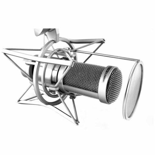 RoXdon HPF-2 Pop filter de metal para microfones Electrovoice RE-20 e RE-27