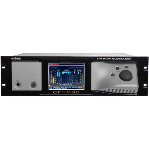 ORBAN OPTIMOD 8700i LT FM+HD PROCESSADOR DE AUDIO DIGITAL COM RDS