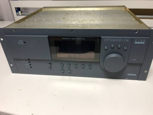 ORBAN OPTIMOD 8200 FM V3 - PROCESSADOR DE AUDIO
