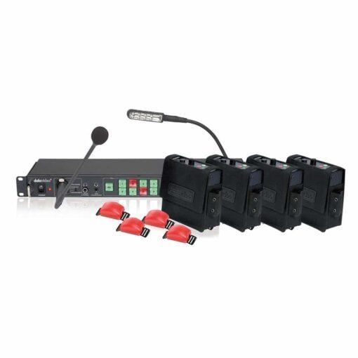 Sistema intercom de 8 canais